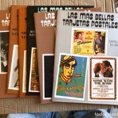 Postales: LOTE DE 6 FASCÍCULOS DE LA COLECCIÓN LAS MÁS BELLAS POSTALES. Lote 201546837