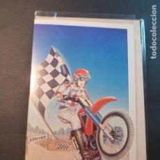 Postales: TARJETA CYZ 3275/66 MOTO CROSS. Lote 201705132