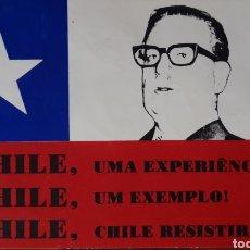 Postales: POSTAL SALVADOR ALLENDE CHILE. Lote 202693081