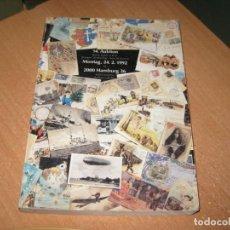 Postales: CATALOGO DE POSTALES HAMBURG 2000. Lote 203384798