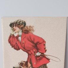 Postales: TARJETA POSTAL AÑOS 20/ MADE IN ITALY/SIN CIRCULAR/ ORIGINAL DE ÉPOCA/ 9×14 CTM.. Lote 203891183