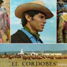 Postales: POSTAL TAURINA DE EL CORDOBES, AÑOS 60. Lote 203939106