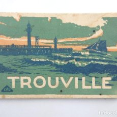 Postales: POSTALES - FRANCIA - TROUVILLE - CUADERNO - BLOC. Lote 204008607