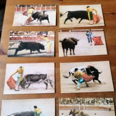 Postales: LOTE 8 POSTALES TAURINAS. Lote 204237426