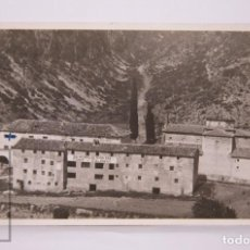 Postales: ANTIGUA POSTAL FOTOGRÁFICA - BALNEARIO DE NTRA. SRA. FONT-CALDA / CALDAS / CALDES MONTBUI, AÑO 1954. Lote 204239071