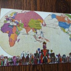 Postales: EST5. PO95. TARJETA POSTAL. PRESIDENT LINERS SERVE THE WORLD. 1936. Lote 204673802