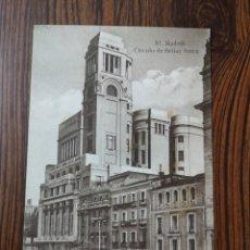Postales: EST5 PO98. TARJETA POSTAL. 81. MADRID. CÍRCULO DE BELLAS ARTES. Lote 204683417