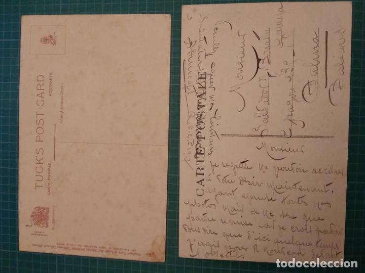 Postales: 2 POSTALES ANTIGUAS - TEMA ESCENAS HOGAR - Foto 2 - 204825292