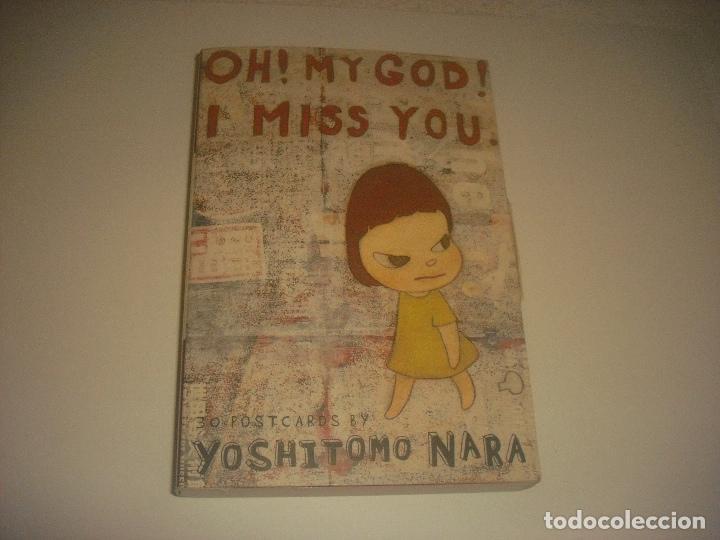 YOSHITOMO NARA 30 POSTCARDS . OH MY GOD ! I MISS YOU. (Postales - Varios)
