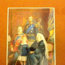 Postales: QUEEN VICTORIA- 4 GENERACIONES - MODERNA. Lote 205301325