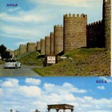 Postales: LOTE DE 7 POSTALES: CUDILLERO,AVILA,ALICANTE (ESCRITA), ASTURIAS - FOTO ADIC.. Lote 205457502