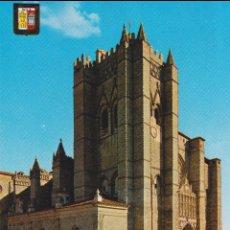 Cartes Postales: COLECCIÓN DE CATEDRALES - AVILA - LA CATEDRAL - ESCUDO DE ORO Nº 9 - S/C. Lote 206370517