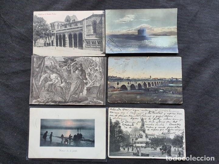 6 POSTALES 1904-08-16 (Postales - Varios)