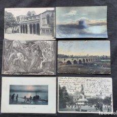 Postales: 6 POSTALES 1904-08-16. Lote 206376126