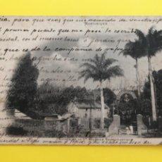 Postales: ANTIGUA CARTA POSTAL MARTINIQUE ENTREE DE LA GENERAL TRANSATLANTIQUE 1903 SELLO LA MARTINICA. Lote 206773908