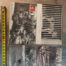 Postales: 4 POSTALES FRANCESAS JARDÍN DES PLANTES. PARÍS. LEÓN. FRANCE FRANCIA. 1920S. Lote 206783997