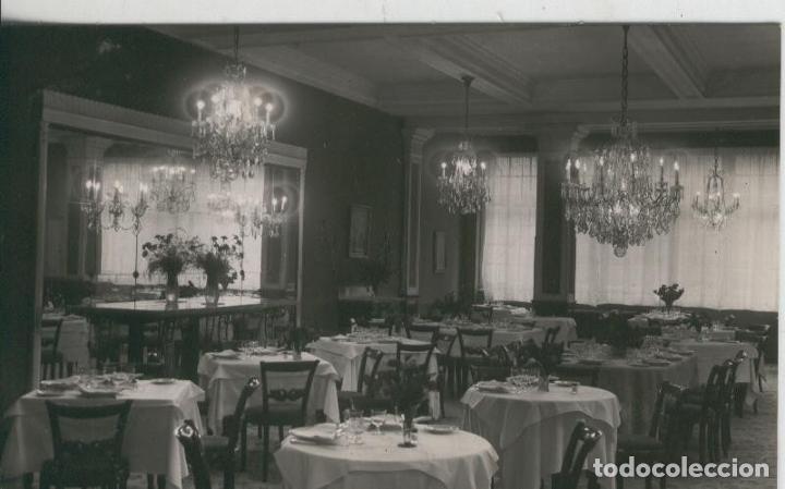 POSTAL 008498: COMEDOR DEL HOTEL PRINCIPADO DE OVIEDO (Postales - Varios)