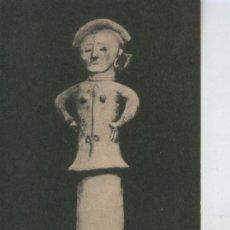 Postales: POSTAL 008516: HANIWA WOMAN, UNGLAZED TERRA COTTA, JAPAN, SEATTLE ART MUSEUM. Lote 206842645