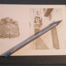 Postales: HAGA SU OFERTA DIFICIL POSTAL AÑO 1985 CADIZ TARIFA ESCUDO HERALDICO CALLE SAN ANTONIO. Lote 206936392