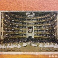 Cartoline: MILANO. INTERNO TEATRO DELLA SCALA. BONITA POSTAL. SIN USAR. Lote 207834091