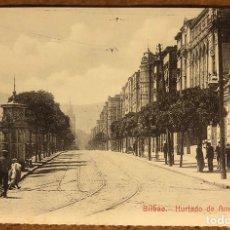 Postales: BILBAO, HURTADO AMEZAGA. POSTAL SIN CIRCULAR COLECCIÓN BBK Y DEIA.. Lote 209976427
