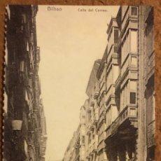Postales: BILBAO, CALLE DEL CORREO. POSTAL SIN CIRCULAR COLECCIÓN BBK Y DEIA.. Lote 209976586