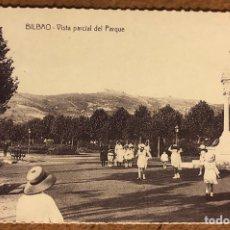 Postales: BILBAO, VISTA PARCIAL DEL PARQUE. POSTAL SIN CIRCULAR COLECCIÓN BBK Y DEIA.. Lote 209976741