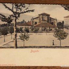 Postales: BILBAO, BASÍLICA DE BEGOÑA . POSTAL SIN CIRCULAR COLECCIÓN BBK Y DEIA.. Lote 209977152