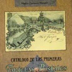 Postales: EL CATÁLOGO DE LAS 1º TARJETAS POSTALES DE ESPAÑA IMPRESAS POR HAUSER Y MENET, 1892-1900.. Lote 210303943