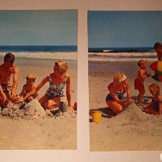Postales: LOTE 2 POSTALES FAMILIARES/ / POSTAL VINTAGE/ ESCRITA /( REF.B.11). Lote 210454146