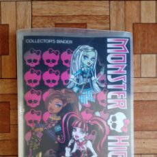 Postales: ÁLBUM MONSTER HIGH - 82 POSTALES DE 108. Lote 210464350
