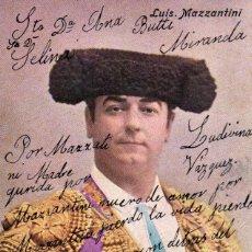 Postales: TARJETA DE LUIS MAZZANTINI, 1904. Lote 210524070