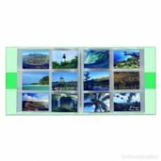 Postales: ÁLBUM POSTCARDS PARA 600 TARJETAS POSTALES, CON 50 FUNDAS FIRMEMENTE ENCUADERNADAS. Lote 211408189