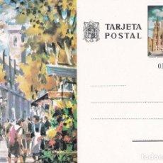 Postales: POSTAL B11564: RAMBLA DE LAS FLORES EN BARCELONA. Lote 211447336