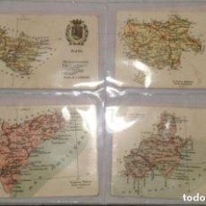 Postales: 46 POSTALES - ATLAS GEOGRAFICO DE ESPAÑA Y PORTUGAL - ALBERTO MARTIN EDITOR BARCELONA -SIN CIRCULAR. Lote 211861523