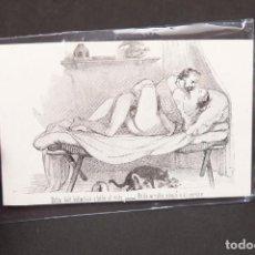 Postales: EL NOBLE ARTE DEL BILLAR - EUSEBIO PLANAS - ERÓTICA - SICALÍPTICA. Lote 212927187