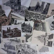 Postales: MAGNIFICO GRAN LOTE DE 79 ANTIGUAS POSTALES VARIADAS,GRAN PARTE SIN CIRCULAR BLANCO Y NEGRO. Lote 213335011