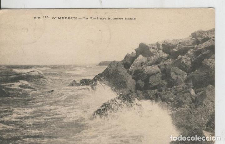 POSTAL 008612: WIMEREUX-LA ROCHETTE A MAREE HAUTE (Postales - Varios)