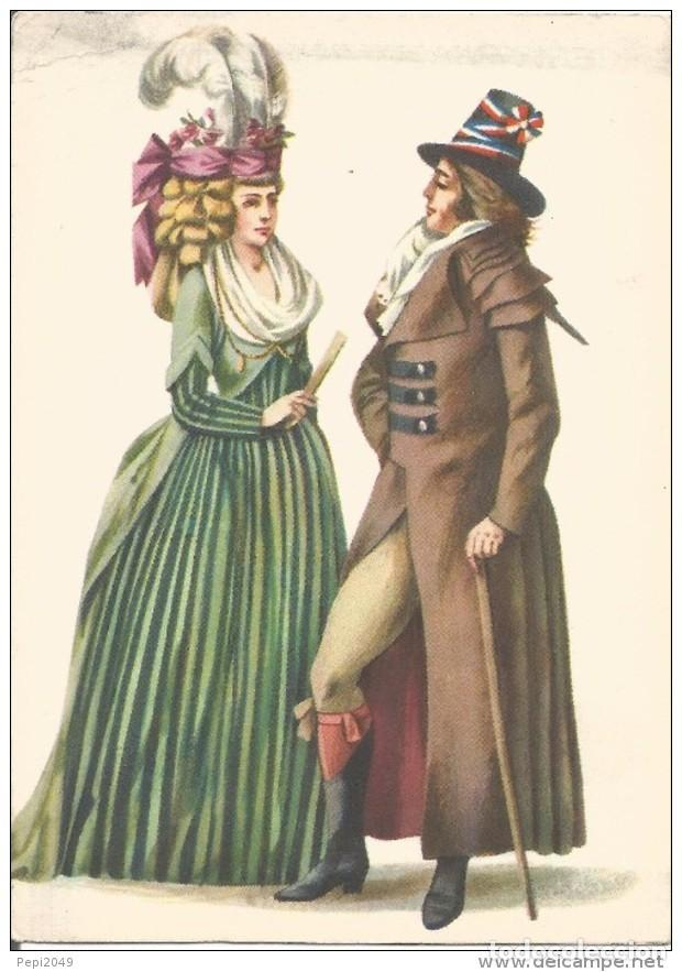 // E275 - POSTAL - COSTUMES D´EPOQUE AUX ENVIRONS DE 1794 (Postales - Varios)