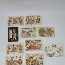 Postales: POSTALES ANTIGUAS CESC ( SOLDADOS ) ESCENAS DE LA GUERRA. Lote 213539585