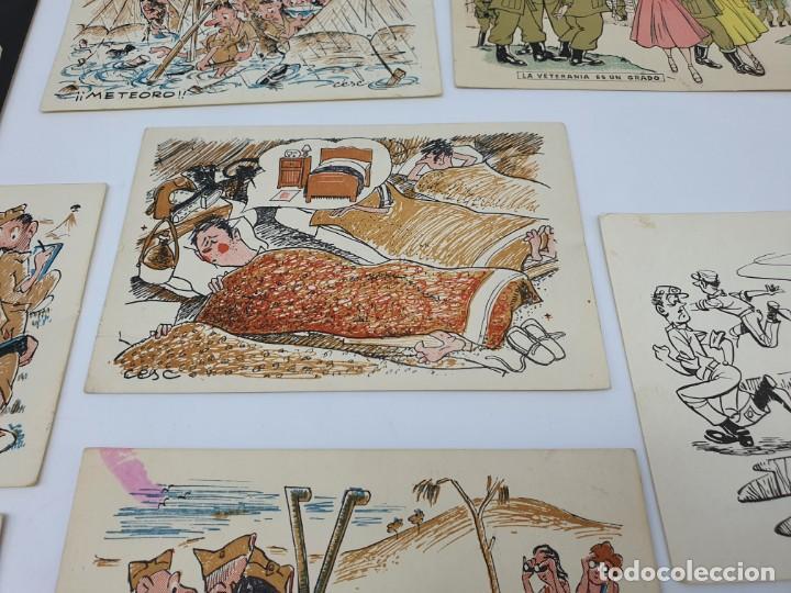 Postales: POSTALES ANTIGUAS CESC ( SOLDADOS ) ESCENAS DE LA GUERRA - Foto 5 - 213539585