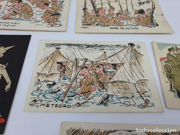 Postales: POSTALES ANTIGUAS CESC ( SOLDADOS ) ESCENAS DE LA GUERRA - Foto 8 - 213539585