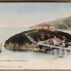 Postales: ISLA DE CHACHARRAMENDI EN PEDERNALES. POSTAL SIN CIRCULAR COLECCIÓN DEIA BBK.. Lote 213667463