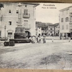 Postales: AMOREBIETA, PLAZA DE SUBICHEA. POSTAL SIN CIRCULAR COLECCIÓN DEIA BBK.. Lote 213667586