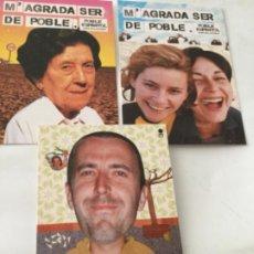 Postales: POBLE ESPANYOL- 3 POSTALES. Lote 213700522