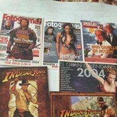 Postales: 6 POSTALES CINE- PUBLICIDAD. Lote 213701450