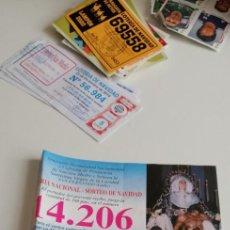 Cartoline: CD-6489 PAPELETA LOTERIA NACIONAL - SORTEO DE NAVIDAD 22 DIC 1997 Nº 06184. Lote 217013397