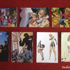 Postales: POSTALES DE CÓMIC AÑOS 80. Lote 217763301