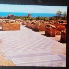 Postales: COSTA BRAVA-AMPURIAS-MOSAICOS ROMANOS.. Lote 218210501