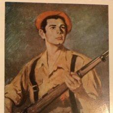 Cartoline: TARJETA DIOS-PATRIA-FUEROS-REY. Lote 218323151